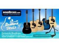 Woodbrass: Recevez un stand pour votre instrument pour toute guitare Ibanez PF15 achetée