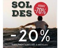 Oxbow: Soldes jusqu'à - 70% et - 20% supplémentaires dès 3 articles soldés achetés