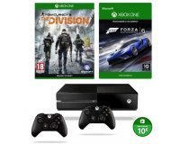 Cdiscount: Xbox One 1To + The Division + Forza 6 + 2 Manettes + 10€ sur Xbox Store à 329€