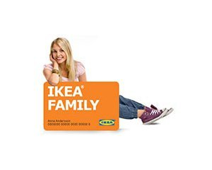 IKEA: Jusqu'à 25% de remise toute l'année sur les articles de la boutique IKEA Family
