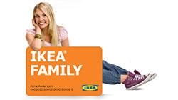 Code promo IKEA : Jusqu'à 25% de remise toute l'année sur les articles de la boutique IKEA Family