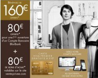 Vente Privée: Vente privée Bforbank : jusqu'à 200€ offerts pour l'ouverture d'un compte