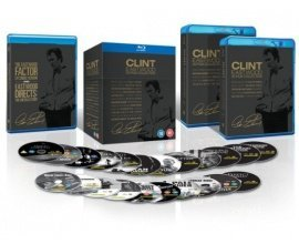 Zavvi: Clint Eastwood - Coffret de 20 Films Blu-ray à 37,99€