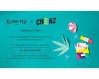 Kusmi Tea: Un bon d'achat de 8€ valable chez Cheerz pour toute commande de mélange glacé