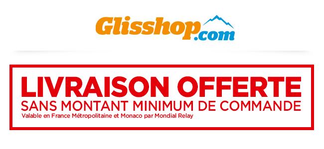 Code promo Glisshop : Livraison offerte sans aucun minimum d'achat par Mondial Relay