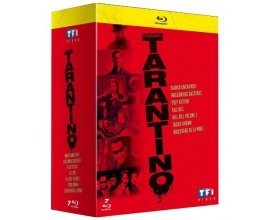 Fnac: Coffret 7 films Blu-ray Quentin Tarantino à 19,99€