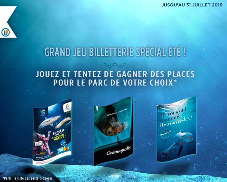 Code promo E.Leclerc : Des places pour le parc de votre choix à gagner
