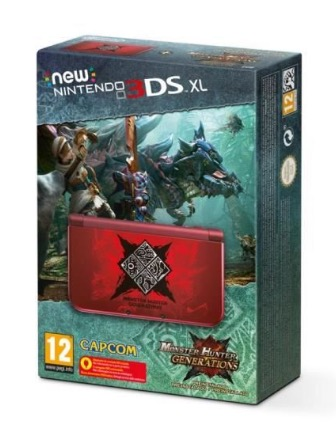 Code promo Micromania : 1 console Nintendo New 3DS + Monster Hunter préinstallé à gagner