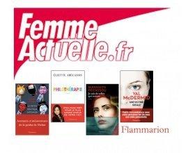 Femme Actuelle: 20 coffrets de 4 romans d'une valeur de 80€ à gagner