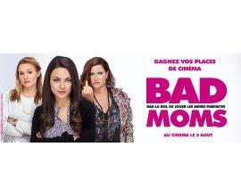 NRJ Games: 20 lots de 2 Places de cinéma pour le Film Bad Moms à gagner