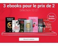 Fnac: 3 ebooks pour le prix de 2