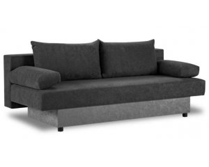 Banquette convertible 3 places guido 199 99 conforama - Conforama banquette convertible ...