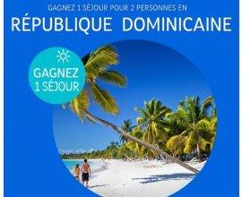 Promovacances: 1 séjour 9 jours / 7 nuits pour 2 personnes en République Dominicaine à gagner