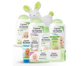 Corine de Farme: 10 produits de soins et toilette pour bébé à 21,35€ au lieu de 30,50€