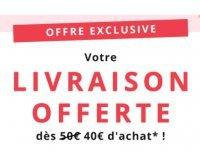 Feelunique: Livraison gratuite dès 40€ d'achats sur vos cosmétiques et parfums de marque