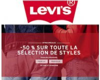 Levi's: -50% sur toute la sélection de styles pour femmes et hommes
