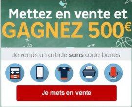 PriceMinister: 12 lots de 500€ à gagner en mettant en vente au moins un article sur le site