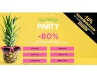 Brandalley: Summer Party : jusqu'à -80% sur des milliers d'articles et -10% supplémentaires