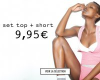 Undiz: Ensemble pyjama Top + Short à 9,95€
