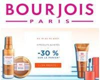 Bourjois: 30% de réduction dès 3 produits achetés