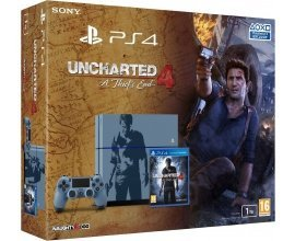 Micromania: Console PS4 Sony 1 To Edition Limitée + Uncharted 4: A Thief's End à 299,99€