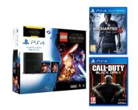 Micromania: CoD Black Ops III & Uncharted 4 offerts pour l'achat du pack PS4 Lego Star Wars