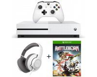 Cdiscount: Xbox One S 2To + Casque Gaming SteelSeries Siberia Raw + Battleborn pour 399€