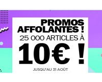 Brandalley: Promos affolantes : 25000 articles à seulement 10€