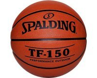Amazon: Ballon de basket-ball Spalding TF150 Out (taille 7) à 10€