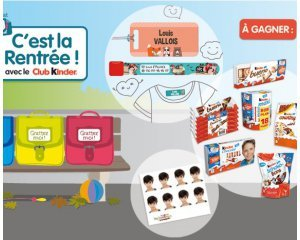 Kinder: 700 cadeaux  à gagner en partenariat avec Ludilabel