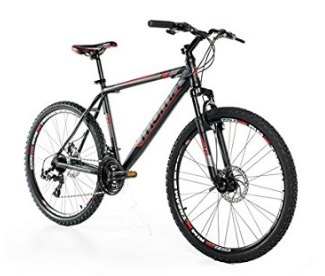 "Code promo Amazon : VTT 26"" SHIMANO, aluminium, double disque et suspension à 199,99€"