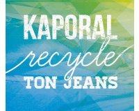 Kaporal Jeans: 1 bon 20€ à valoir sur un jean neuf offert pour un vieux vêtement en jean ramené