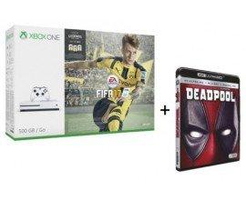 Fnac: Xbox One S + FIFA 17 + 1 Blu-ray 4K + 30€ offerts pour les adhérents pour 299€