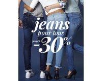 3 Suisses: Jusqu'à -30% sur les jeans femme et homme