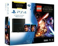 Cdiscount: Console PS4 1 To Jet Black + Lego Star Wars + Blu Ray Star Wars à 279,30€