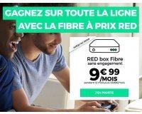 SFR: Abonnement internet RED box Fibre sans engagement à 9,99€ / mois