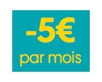 Sosh: -5€/mois pendant 12 mois en souscrivant à un forfait Sosh Mobile