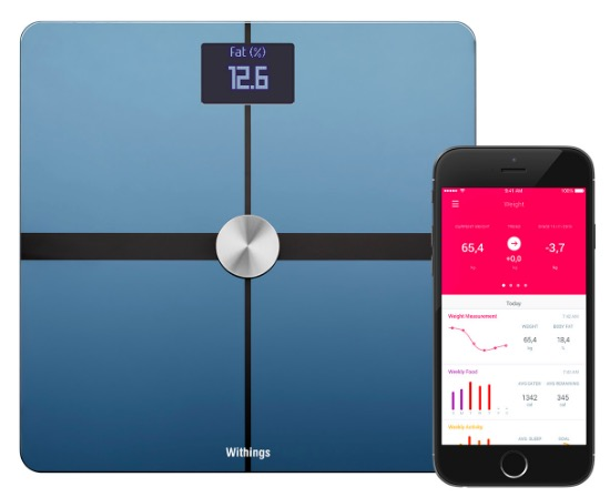 Code promo Amazon : Pèse-personne / balance connectée Withings Body à 69,99€