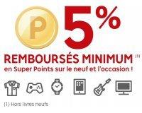 PriceMinister: PriceClub : 5% de vos achats remboursés minimum en Super Points
