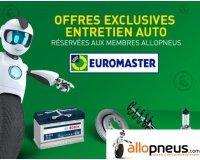 Allopneus: Jusqu'à 30€ de remise pour entretenir votre véhicule dans les centre Euromaster