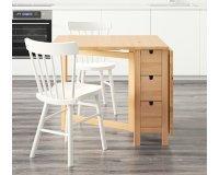 IKEA: [IKEA Family] La table d'intérieur à rabats & tiroirs Norden passe de 149 à 129€