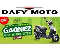Dafy Moto: 1 scooter KSR à gagner par tirage au sort après avoir commandé pour 200€ minimum