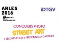IDTGV: 2 weekend à Arles à gagner en publiant votre plus belle photo de street art
