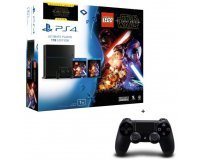 Cdiscount:  PS4 1 To + Lego Star Wars + Blu Ray Star Wars VII + 2 Manettes à 398,82€