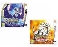 Fnac: [Adhérents] 10€ offerts sur la précommande des jeux 3DS Pokemon Lune ou Soleil