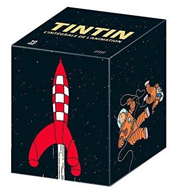 Code promo Amazon : Coffret DVD l'intégrale de la série Tintin en édition limitée à 39,99€
