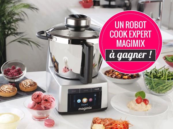un robot cuisine magimix cook expert d 39 une valeur de 1200 gagner. Black Bedroom Furniture Sets. Home Design Ideas