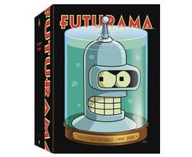 Amazon: Coffret DVD Futurama - La collection intégrale 1999-2009 à 24,99€