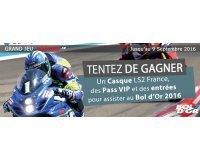 L'Équipe: Un casque de moto LS2, des entrées et pass VIP pour le Bol d'Or 2016 à gagner