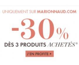 Marionnaud: -20% dès 2 produits et -30% dès 3 articles beauté achetés
